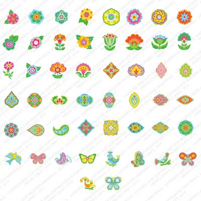 Cricut 174 Florals Embellished Cartridge From Provo Craft In