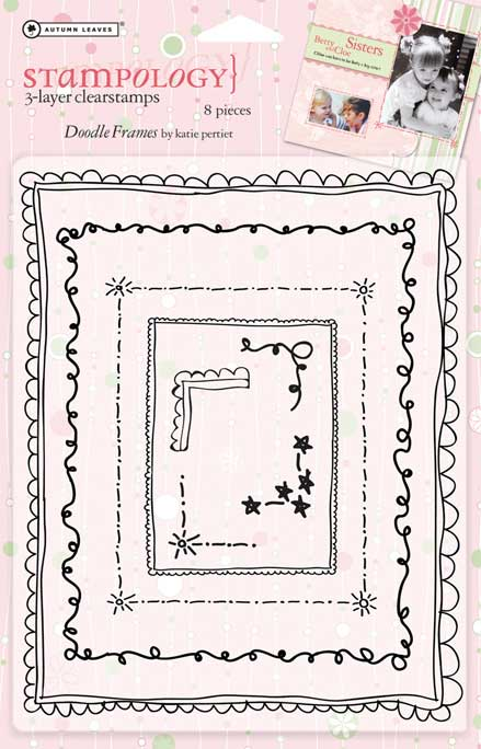 Stampology Doodley Frames Clear Stamp Set By Autumn Leaves