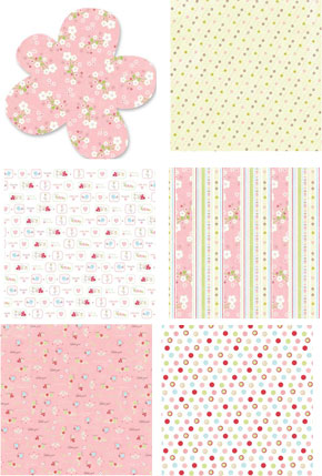 Autumn Leaves Cuteworld Girl Specialty Paper Pack 6pk From