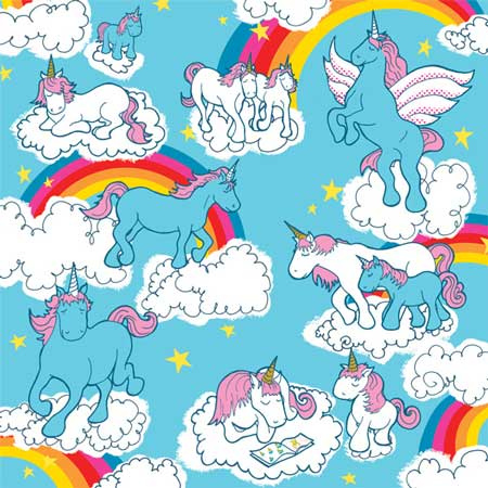 Volume 3 Unicorn Power 12x12 Patterned Paper By Bampop