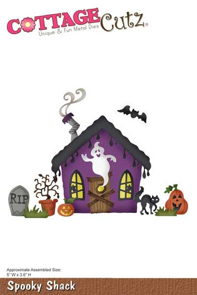 Cottagecutz Spooky Shack Die Buy Now