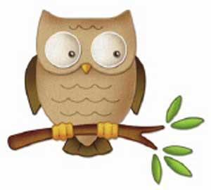 Cottage Cutz Stylized Owl 4x4 Die Buy Now