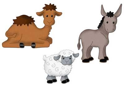 Cottage Cutz Nativity Set Animals 4x4 Die - Buy Now!