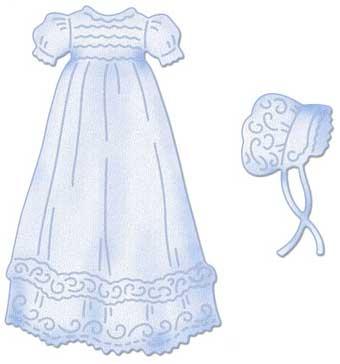 Cottagecutz Christening Gown 4x4 Die Buy Now