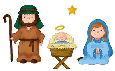 Cottage Cutz Nativity Set Mary Joseph Amp Baby 4x6 Die