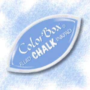 Colorbox Fluid Chalk Cat S Eye Inkpad French Blue From