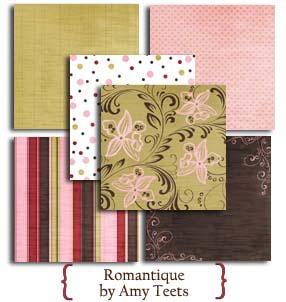 Romantique Dream Street 12x12 Paper Collection 12pk Save