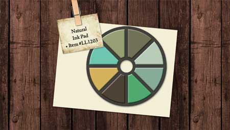 Laundry Line Natural Color Scheme Expandable 8 Color Ink