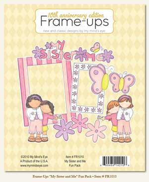 My Sister And Me Frame Ups Fun Pack 10pk From My Minds