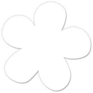 Five Petal Flower 11 Quot Xl Pageframe Designs 2pk Buy Now