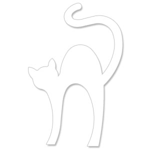 black cat templates for halloween - elf cut out template search results calendar 2015