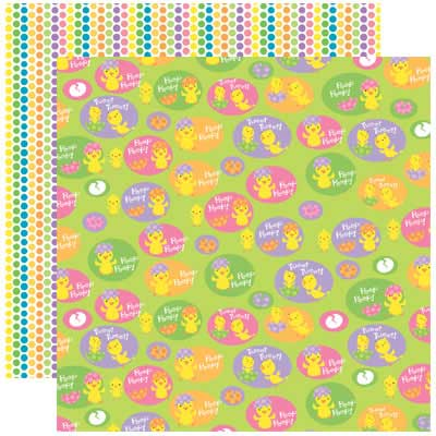 Hangin With My Peeps 12x12 Easter Paper From Reminisce